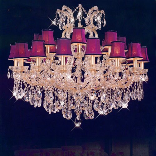 Huge hotel chandelier maria theresa