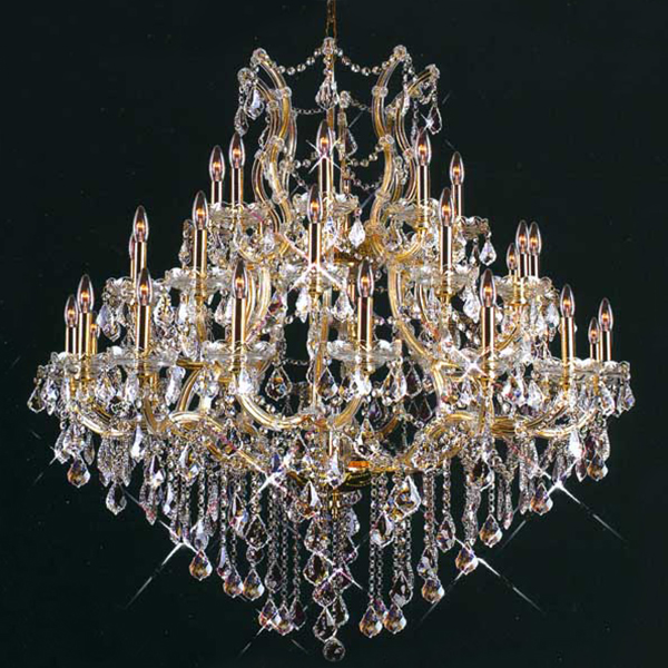 gorgeous  maria theresa lighting