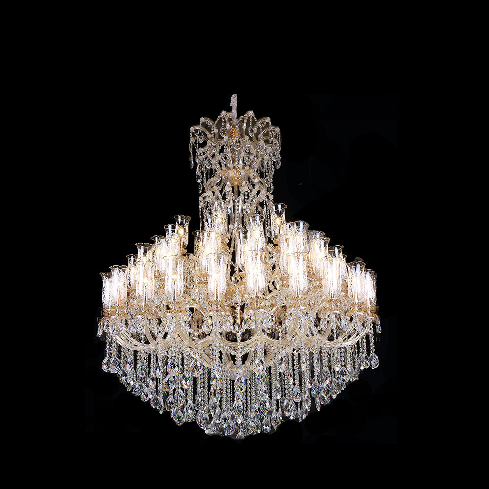Glass maria Theresa Chandelier