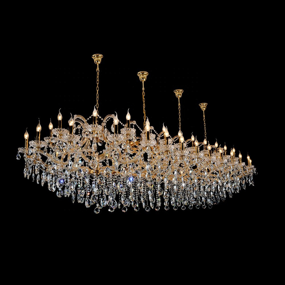 low ceiling maria theresa crystal chandelier